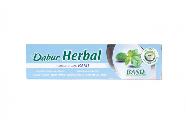 Zubná pasta Dabur - antiseptická  BAZALKA 100 g