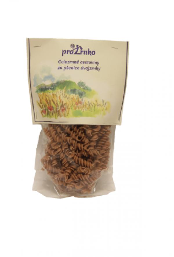 Cestoviny zo pšenice dvojzrnky bio 250g Prazrnko