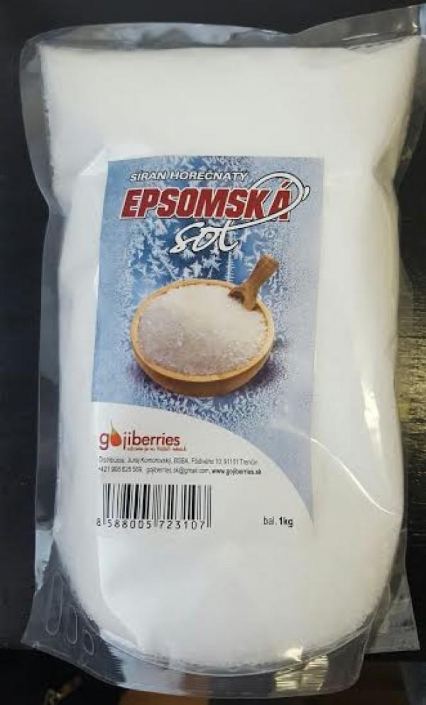 Epsomská soľ 1 kg