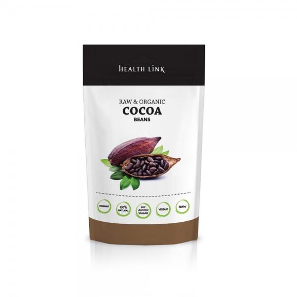 HEALTH LINK BIO RAW nepražené kakaové bôby drvené 250 g