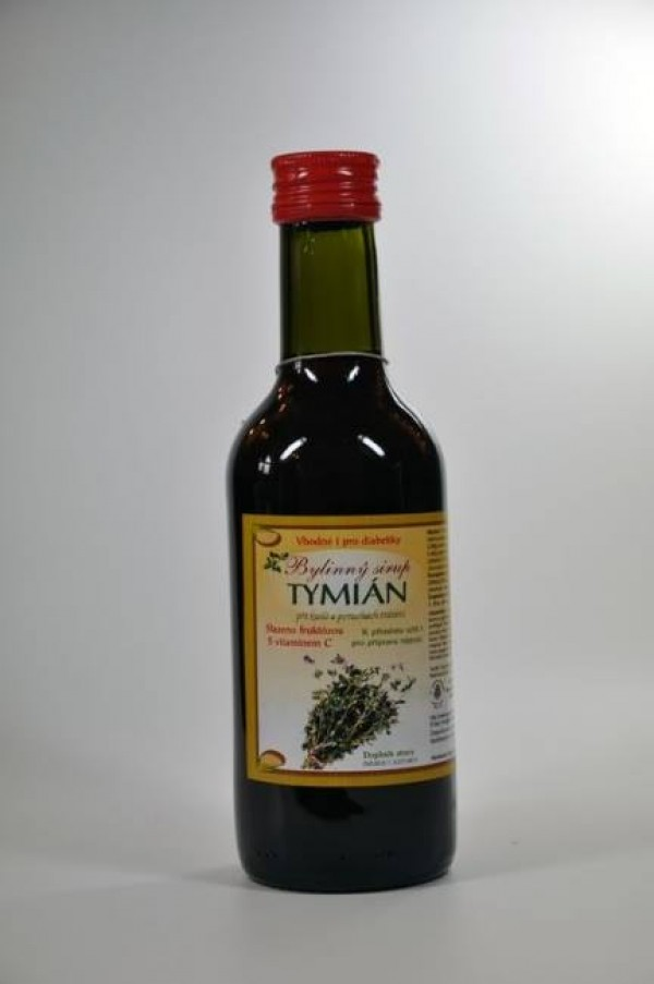Sirup tymián 250ml