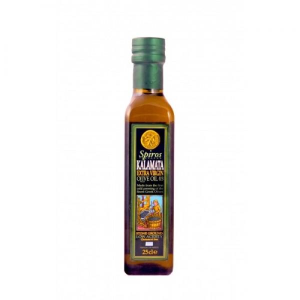 Extra panenský olivový olej SPIROS P.D.O. Kalamata 0,2% 250ml