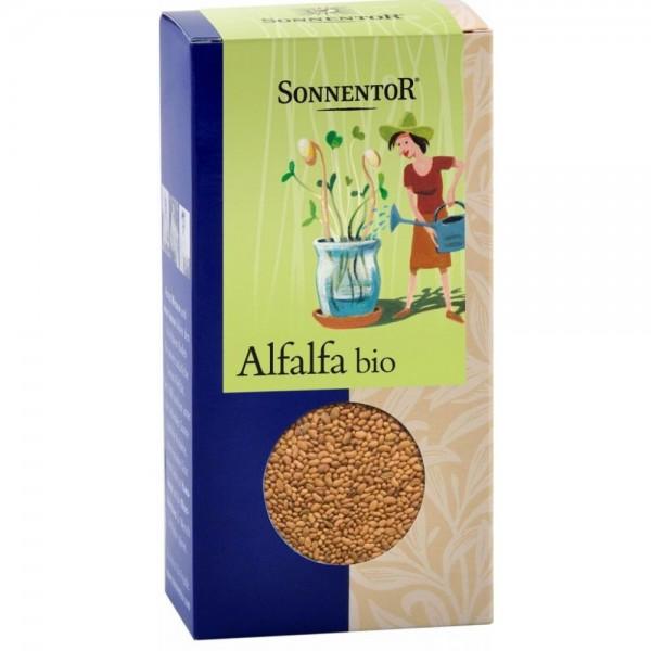 Alfalfa, semienka na nakličovanie BIO Sonnentor 120 g