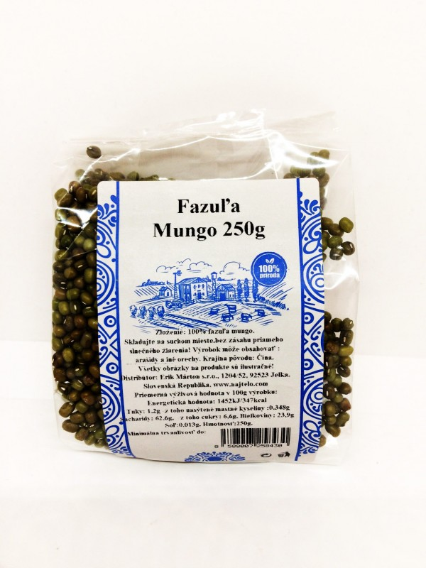 Fazuľa Mungo  250 g