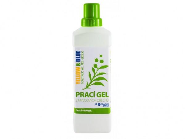 Prací gel z mydlových orechov 1l