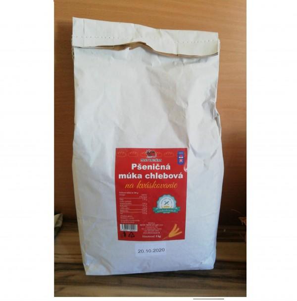 Pšeničná múka chlebová na kváskovanie Trenčan 5kg