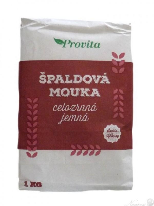 Múka špaldová celozrnná jemná Provita1 kg