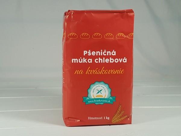 Pšeničná múka chlebová na Kváskovanie 1kg