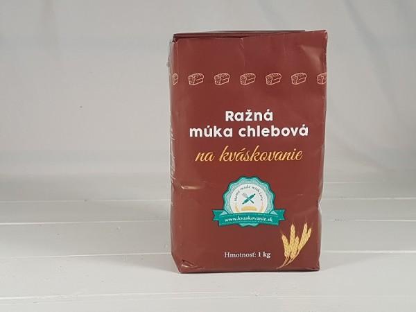 Ražná múka chlebová na Kváskovanie Myn Trenčan 1kg