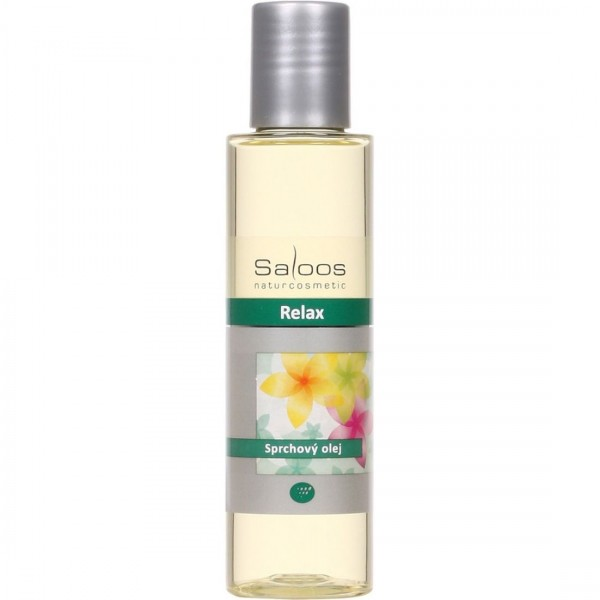 Relax - sprchový olej Saloos 125ml