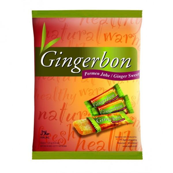 Zázvorové cukríky natural 125g GINGERBON